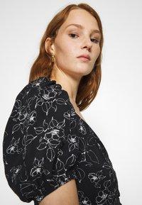 Mavi - PRINTED DRESS - Sukienka letnia - black - 4