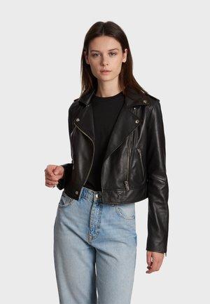 NIKKO - Leather jacket - black