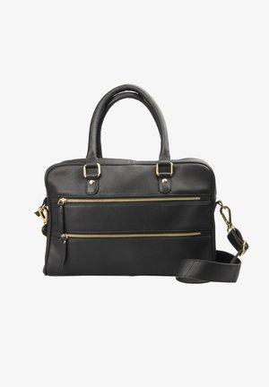 ISABELL - Handbag - black gold
