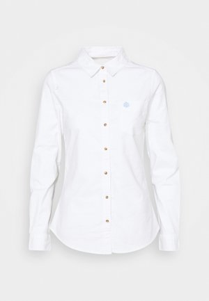 CAMISA OXFORD  - Košile - white