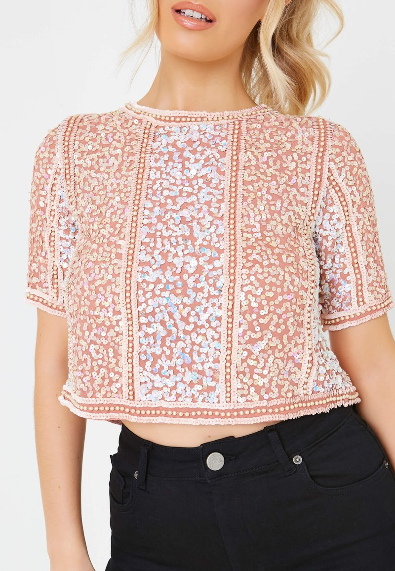 BEAUUT - ELLIS - Bluse - dusty pink