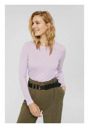 REGULAR FIT - Long sleeved top - lilac