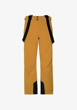 BORK - Snow pants - dark yellow
