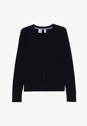 GIRLS UNI CABLE CARDI - Kardigan - true indigo