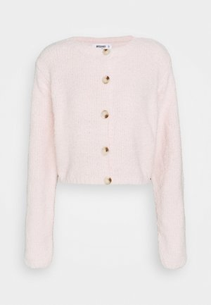 POPCORN CROP CARDI - Cardigan - pink