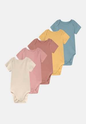 BABY POINTELLE 5 PACK UNISEX - Body - multi-coloured