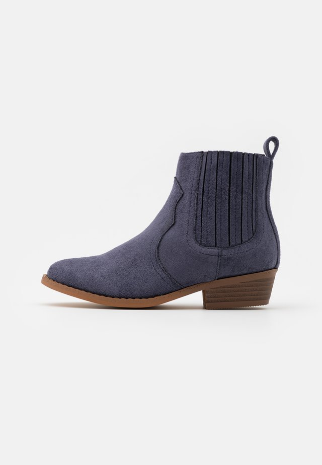 WESTERN BOOT - Classic ankle boots - navy