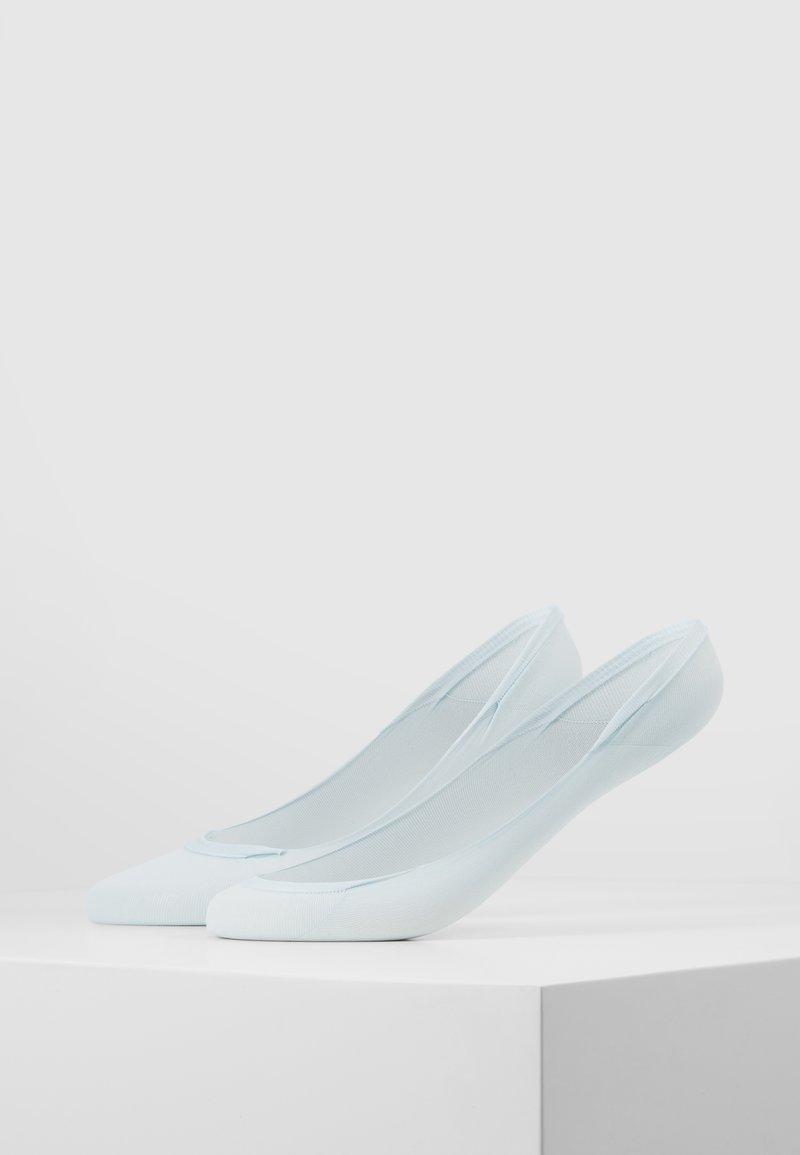 Swedish Stockings - IDA PREMIUM STEPS 2 PACK - Trainer socks - light blue