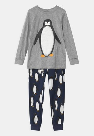 PENGUIN UNISEX - Pyjama set - grey melange
