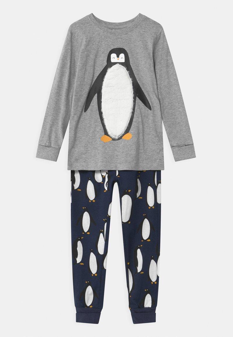 Lindex - PENGUIN UNISEX - Pyžamová sada - grey melange
