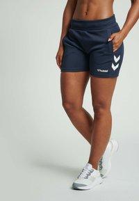 Hummel - Sports shorts - blue nights - 0