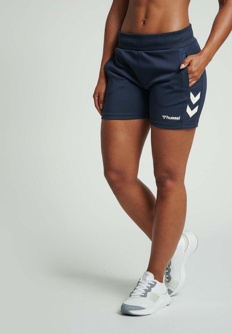 Hummel - Sports shorts - blue nights