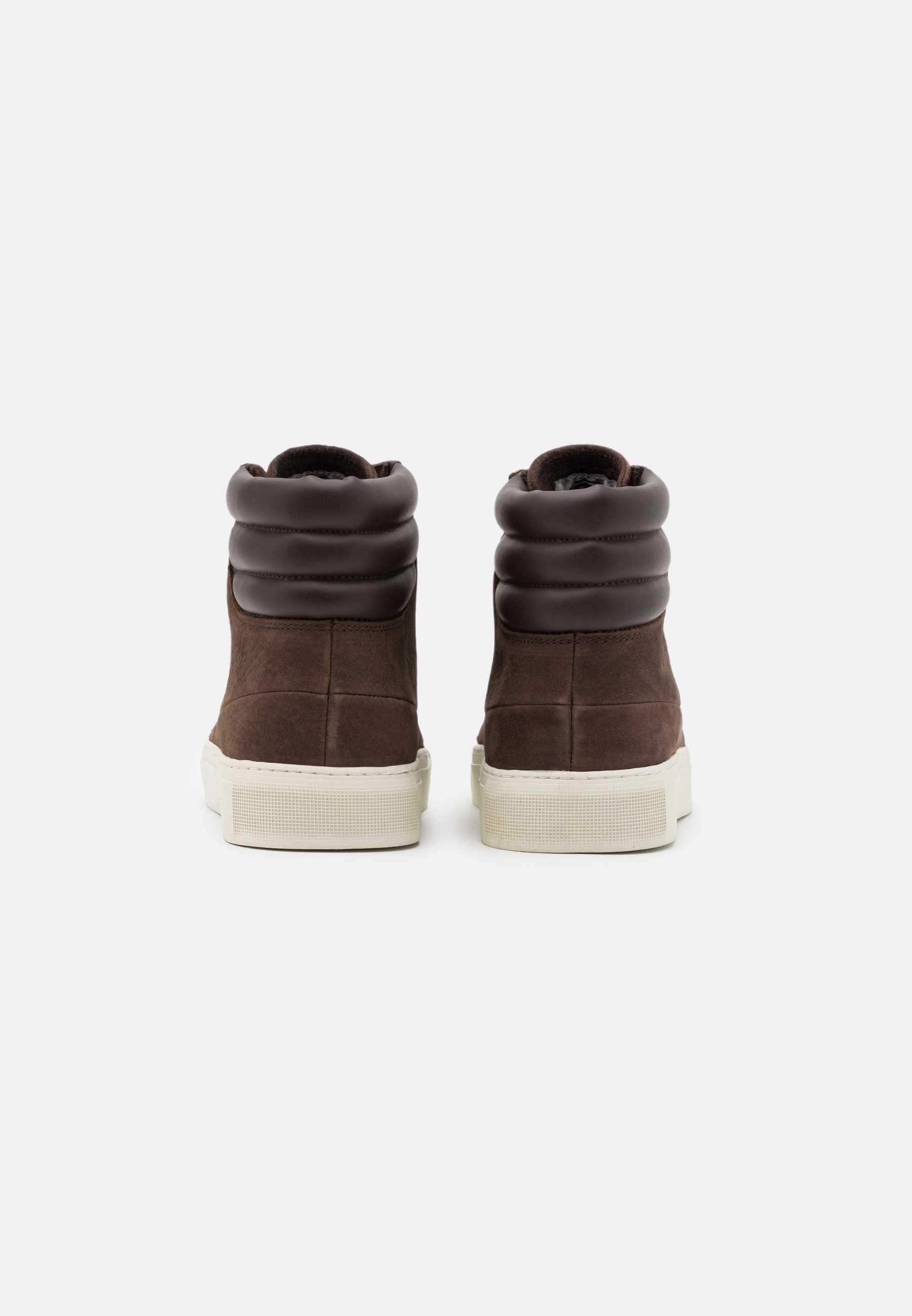 HUB EASTBOURNE - Sneaker high - dark brown/offwhite/braun - Herrenschuhe HzvXo