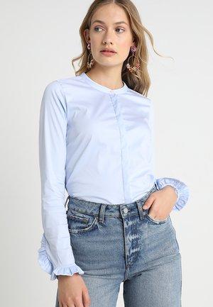 MATTIE - Button-down blouse - blue