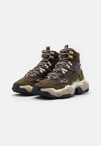 HUGO - ATOMIC - High-top trainers - open brown - 1