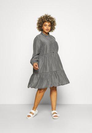 VIMORASA GUDNY SHIRT DRESS - Shirt dress - dark grey denim