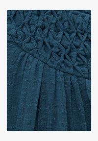 PULL&BEAR - Vardagsklänning - dark-blue denim - 5