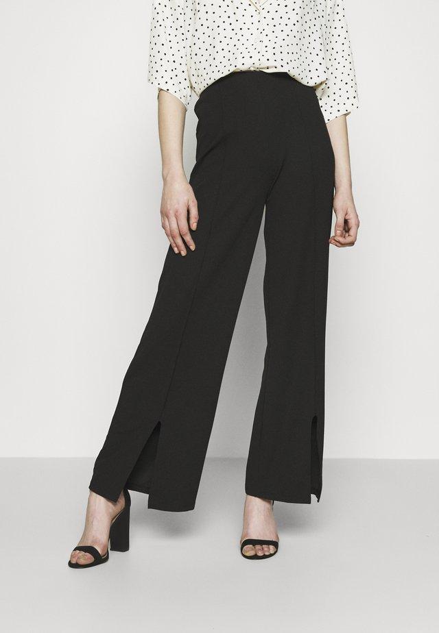 HARPER TROUSERS - Pantalon classique - black
