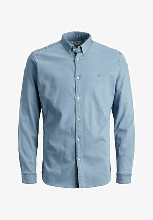 SLIM FIT - Skjorta - light blue denim