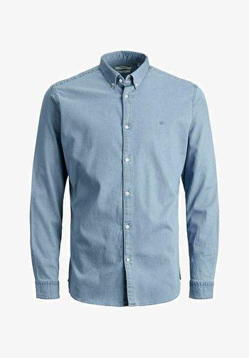 SLIM FIT - Camicia - light blue denim