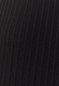 Noisy May Tall - NMINDIGO LONG CARDIGAN - Cardigan - black - 2