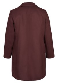Zizzi - Classic coat - red - 4