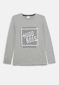 BOSS - Long sleeved top - grey marl - 0
