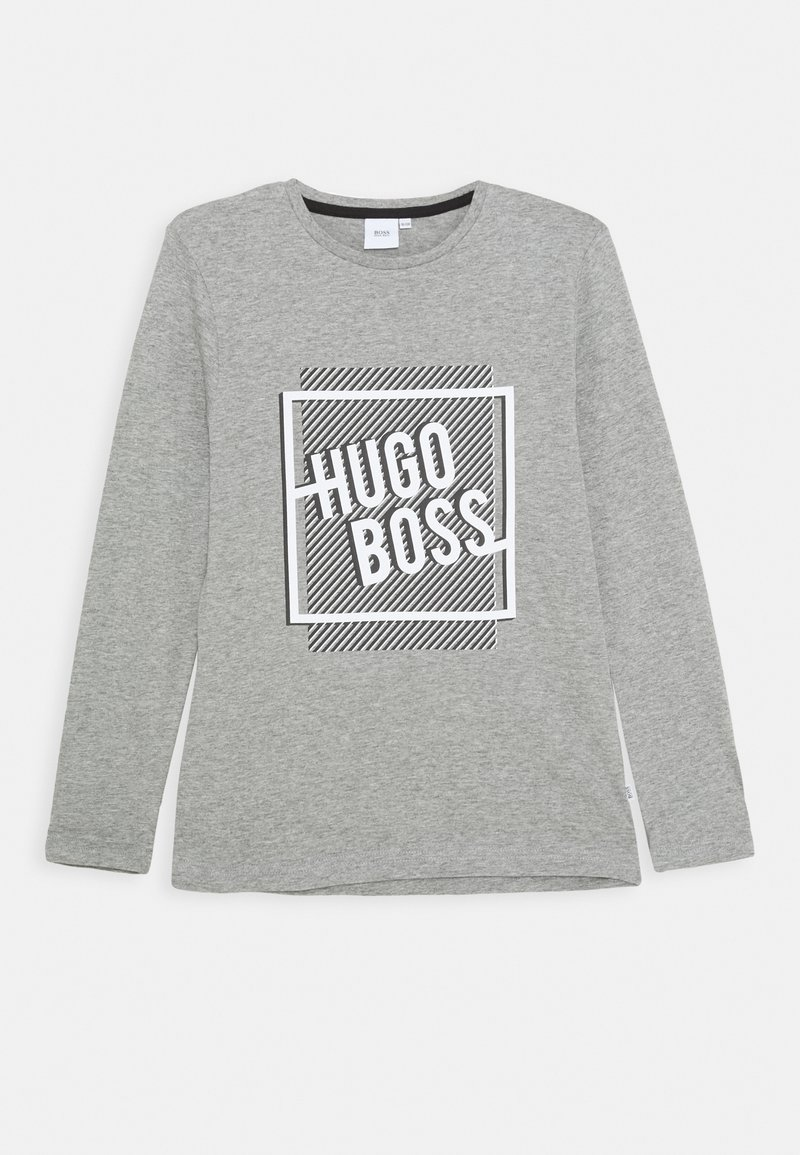 BOSS - Long sleeved top - grey marl