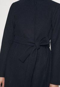 Vila - VICOOLEY NEW COAT - Zimní kabát - navy blazer - 5