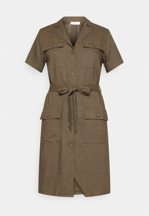 ERIA EMERSON DRESS - Košilové šaty - grape leaf