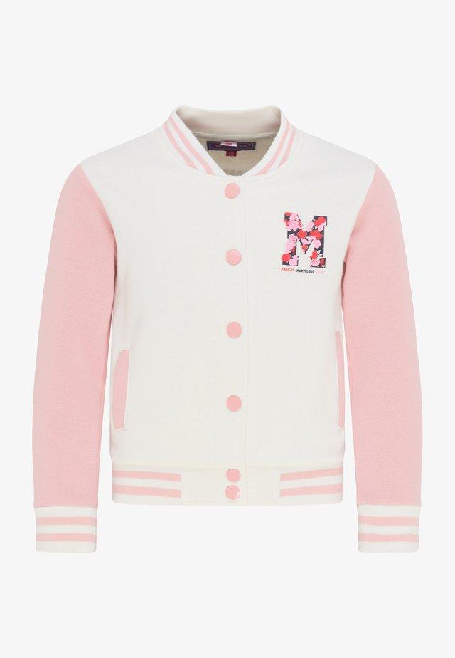 Bomber Jacket - wollweiss rosa