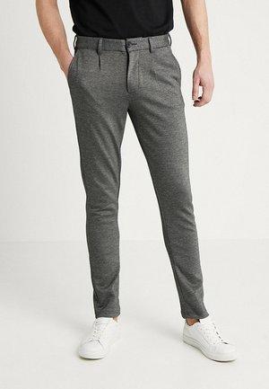 JJIMARCO JJSANDY MELANGE - Pantalones chinos - grey melange