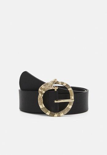 PCSNAPZ WAIST BELT - Waist belt - black/gold-coloured