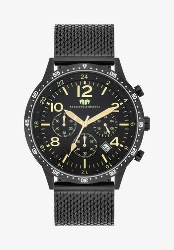 CAPTAIN  - Chronograph watch - schwarz