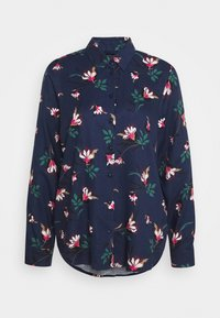 Seidensticker - LANGARM - Button-down blouse - navy - 4