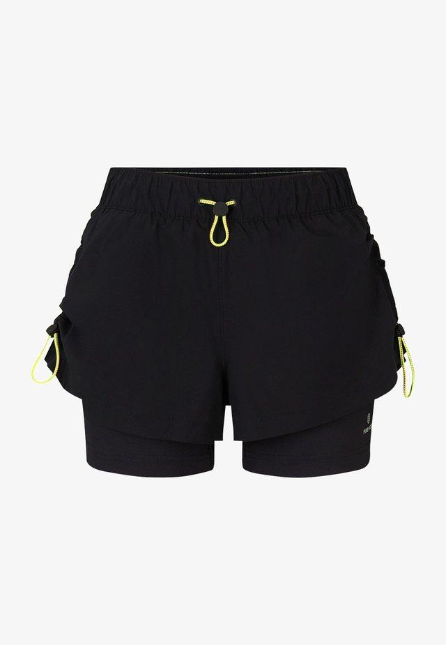 Short de sport - schwarz