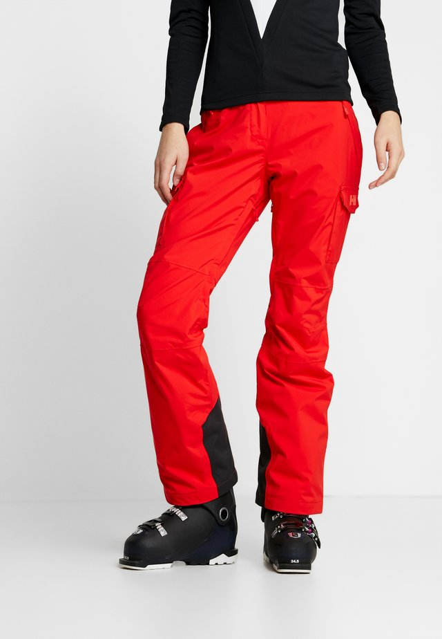 SWITCH CARGO 2.0 PANT - Skibroek - alert red