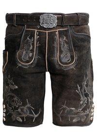Stockerpoint - LAURENCE - Kožené kalhoty - bison - 0