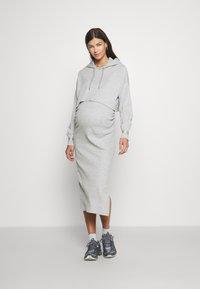 River Island Maternity - Jersey dress - grey - light - 0