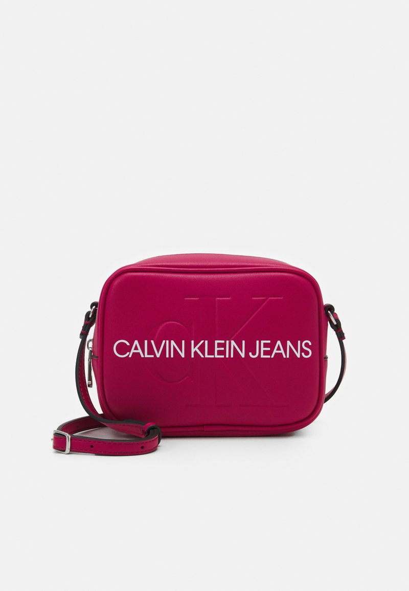 Calvin Klein Jeans - CAMERA BAG - Across body bag - red