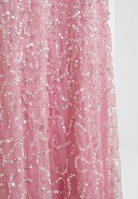 Maya Deluxe - ALL OVER EMBELLISHED DRESS - Ballkjole - pink - 8