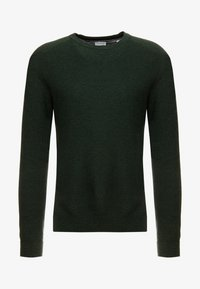 Esprit - HONEYCOMB - Trui - dark green - 3