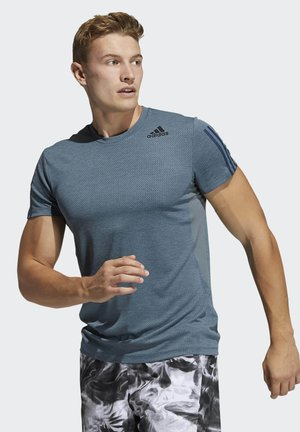 H.RDY 3S TEE - Camiseta estampada - blue