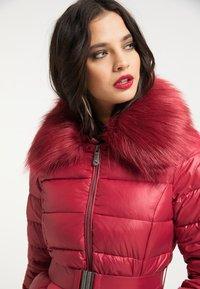 faina - Winter jacket - dunkelrot - 3