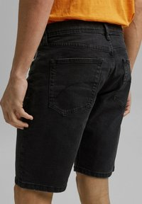 edc by Esprit - Denim shorts - black dark washed - 3