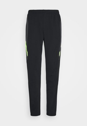 DRY ACADEMY PANT  - Pantalon de survêtement - black/dark smoke grey/volt/light smoke grey