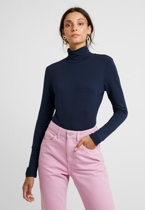 YOKO ROLLNECK - Long sleeved top - midnight marine