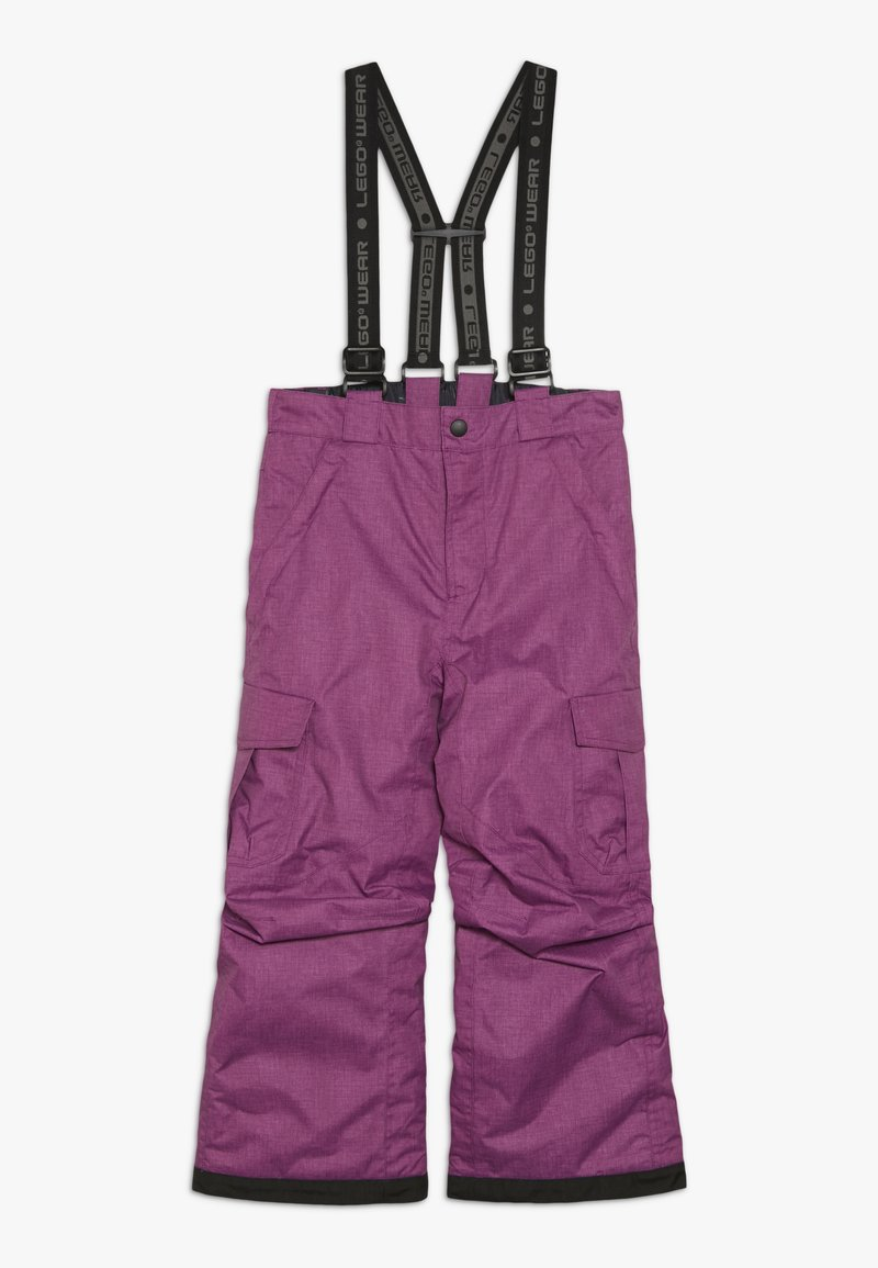LEGO Wear - SKI PANTS - Snow pants - light purple