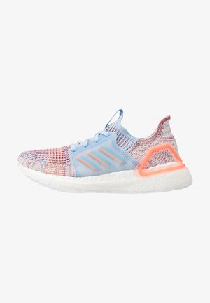 ULTRABOOST 19 - Neutral running shoes - glow blue/hi-res coral/active maroon