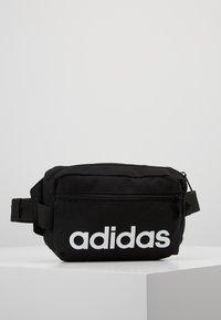 adidas Performance - ESSENTIALS LINEAR SPORT WAISTBAG - Bum bag - black/white - 0